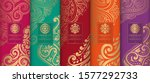 colorful packaging design of... | Shutterstock .eps vector #1577292733