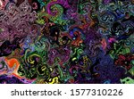 black background colorful... | Shutterstock . vector #1577310226