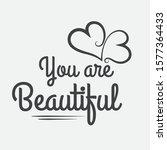inspirational and motivation... | Shutterstock .eps vector #1577364433