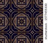 art deco geometric seamless... | Shutterstock .eps vector #1577455330