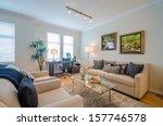 interior design of a luxury...   Shutterstock . vector #157746578