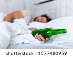Unconscious Drunk Man With...