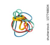 Tangled Colorful Elastic Rubbe...