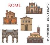 Rome Architecture Landmarks ...