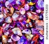stone color gem opal ruby stone ... | Shutterstock . vector #157755203