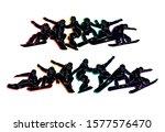 snowboard  snowboarders ... | Shutterstock .eps vector #1577576470
