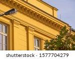 protective net against pigeon... | Shutterstock . vector #1577704279