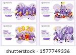 set of web page design...   Shutterstock .eps vector #1577749336