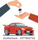 car deal design background with ... | Shutterstock .eps vector #1577842726