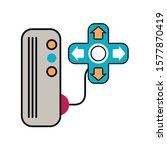 video game console with control ...