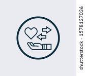 empathy creative icon. simple... | Shutterstock .eps vector #1578127036