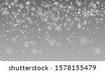 Falling Snowflakes On...