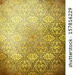 classical ottoman design | Shutterstock . vector #157816229