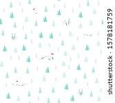 winter seamless pattern.... | Shutterstock .eps vector #1578181759