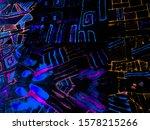 80 Pattern Style. Rainbow...