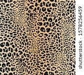 realistic leopard print. animal ... | Shutterstock . vector #1578256459