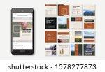 social media pack. business...   Shutterstock .eps vector #1578277873