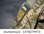 Ukrainian Soldier Wearing...