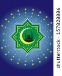 islamic pattern style | Shutterstock . vector #157828886