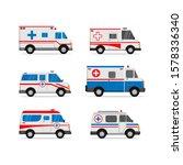illustration of ambulance car... | Shutterstock .eps vector #1578336340