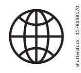 global  worldwide internet web...   Shutterstock .eps vector #1578338170