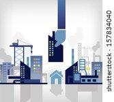 construction   Shutterstock .eps vector #157834040