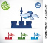 tower symbol illustration  sign ...