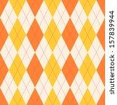 seamless classical argyle...   Shutterstock .eps vector #157839944