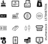 money vector icon set such as ... | Shutterstock .eps vector #1578487036