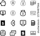 money vector icon set such as ... | Shutterstock .eps vector #1578487066