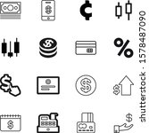 money vector icon set such as ... | Shutterstock .eps vector #1578487090