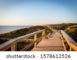 Beach Stairs Hiking Trail On...