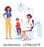 family medicine dental concept. ... | Shutterstock .eps vector #1578616279
