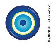 vector of evil eye   turkish... | Shutterstock .eps vector #1578619939