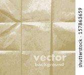 grunge retro vintage paper...   Shutterstock .eps vector #157863659
