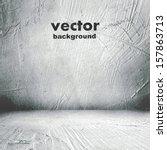 grunge retro vintage interior ... | Shutterstock .eps vector #157863713