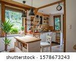 Vintage Rustic Interior Of...