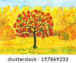 hand painted picture ... | Shutterstock . vector #157869233