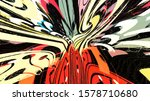 red color abstract patterns and ... | Shutterstock . vector #1578710680