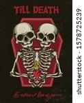 """till death and even longer""  ...   Shutterstock .eps vector #1578725239"