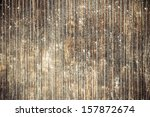 Vintage Stained Wooden Wall...
