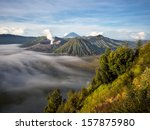 Gunung Bromo  Mount Batok And...