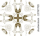vector heraldic cross | Shutterstock .eps vector #15787705