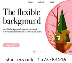 editable landing page with...