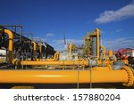 oil and gas processing plant | Shutterstock . vector #157880204
