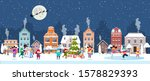 happy new year and merry...   Shutterstock .eps vector #1578829393