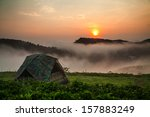 Camping Tent With Sunshine