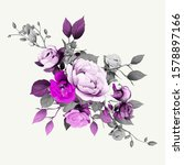 floral design. isolated...   Shutterstock .eps vector #1578897166