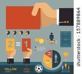 Soccer Infographic  Eps 10...