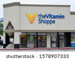 Small photo of Humble, Texas/USA 11/28/2019: The Vitamin Shoppe was founded in 1977 and is an established supplier of nutrition supplements, vitamins and in recent years CBD oil. Pictured location is in Humble, TX.